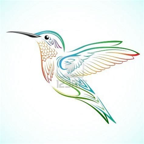 tribal bird tattoo meaning hummingbird images designs