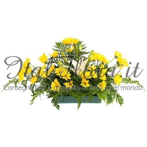 fiori gialli messina cuscino di fiori gialli spedizione con consegna a