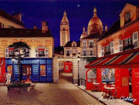 libro montmartre pariss village of liudmila kondakova montmartre village