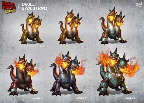 drull backyard monsters bymu drull evolutions by dna 1 on deviantart
