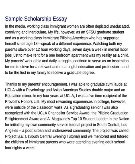 The Best College Scholarship Essay Writing Service By Vatoxekiw Issuu 10 Scholarship Essay Exles Sles Pdf