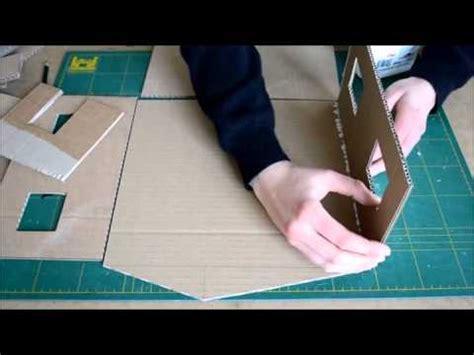 Schrank Aus Pappe Basteln by Einfache Puppenstube Selber Basteln