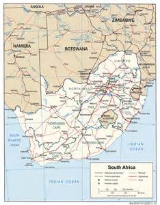 Modern Map Of Africa by The Soccer World Goes To South Africa Sport And The