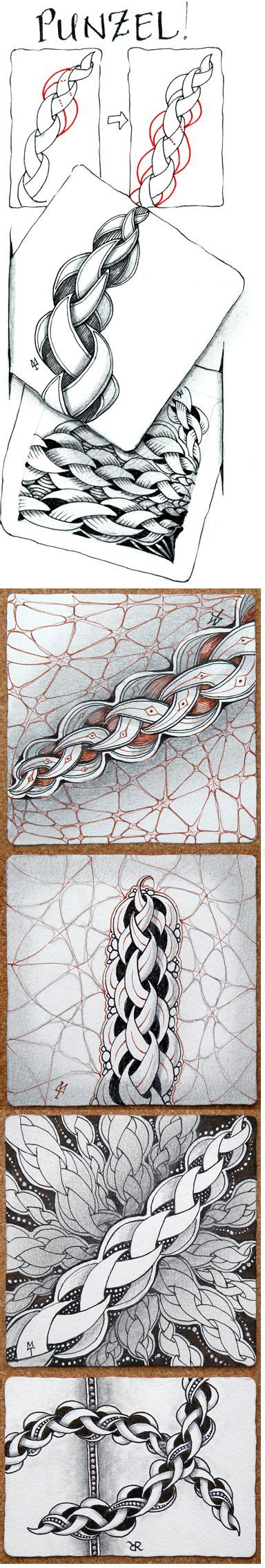 zentangle pattern punzel punzel occifial zentangle tangelation with exles