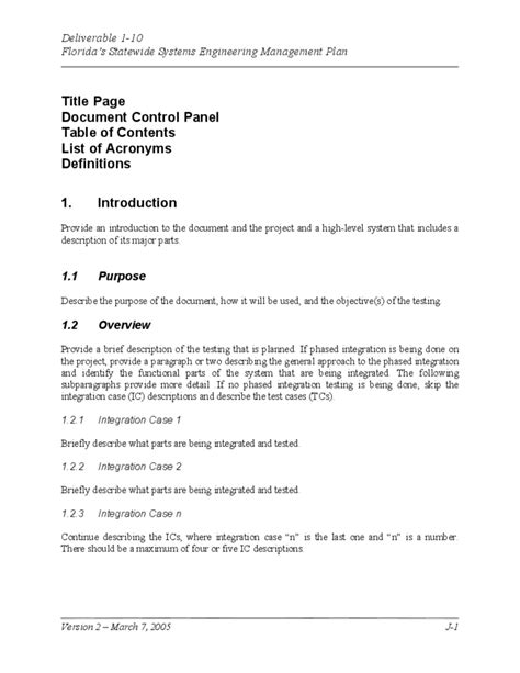 Form Design For Quiz System | system test plan template free download