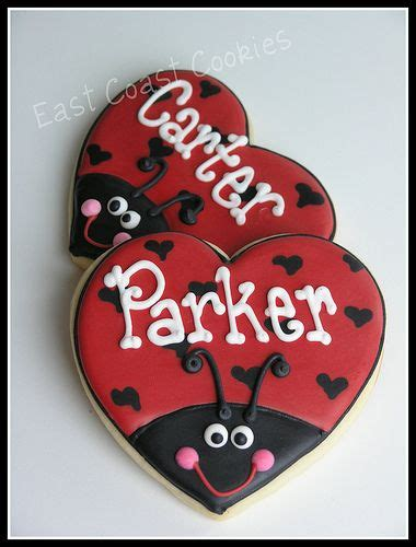ladybug valentines ladybug cookies this would be great to do as valentines