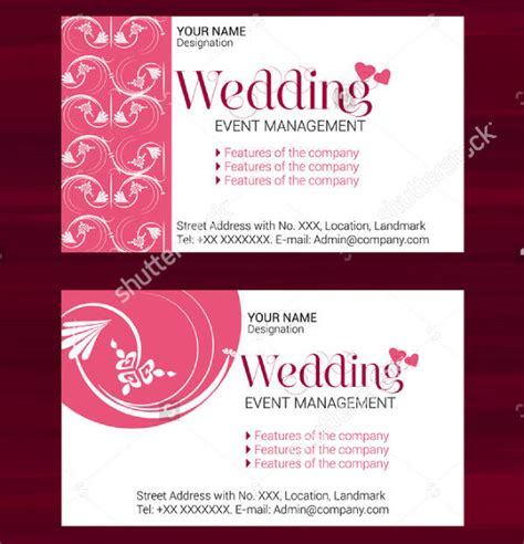 Event Card Template by 75 Card Templates Free Premium Templates