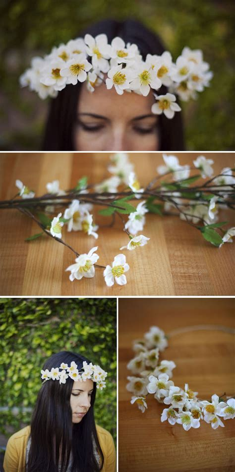 diy flower crown diy flower crowns hair