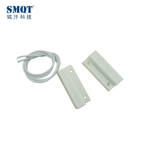 Wired Magnetic Contatc For Wooden Door wired door magnetic contact white switch
