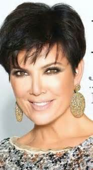 kris jenner haircuts front and back kris kardashian hair style front and back short