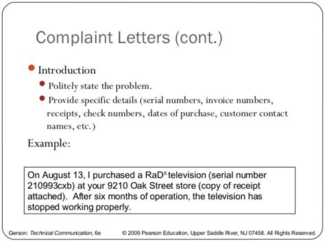 Complaint Letter Conclusion Writing A Memo Letter And E Mail