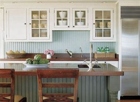how to make a kitchen recipe board echoes of laughter 25 beadboard kitchen backsplashes to add a cozy touch