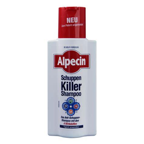 alpecin schuppen killer alpecin schuppen killer shoo 250 milliliter