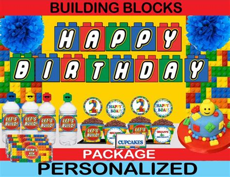 30 Best Images About Lego Birthday Party Ideas On Pinterest Shops Food Labels And Themed Parties Lego Happy Birthday Banner Template