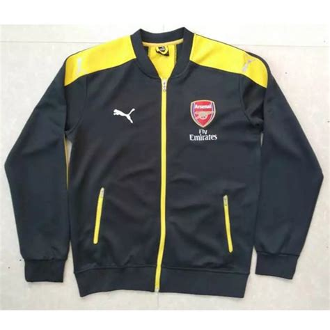 Jaket Hoodie Atletico Madrid Jaket Football Team 2016 17 arsenal black jacket arsenal