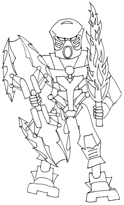 coloring page lego bionicle lego bionicle coloring pages az coloring pages