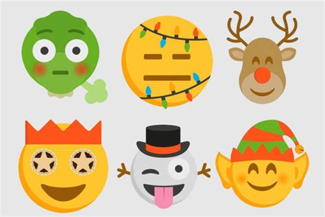 images of christmas emojis image gallery sprout emoji