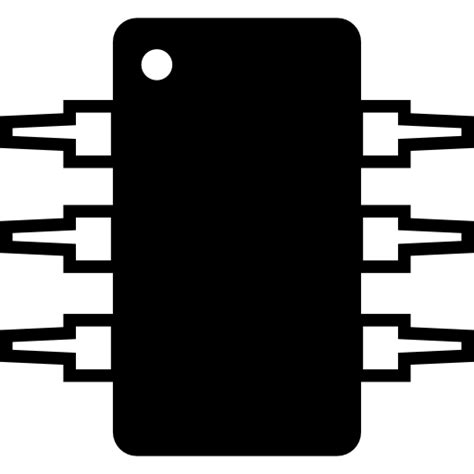 integrated circuit icon png integrated circuit free electronics icons