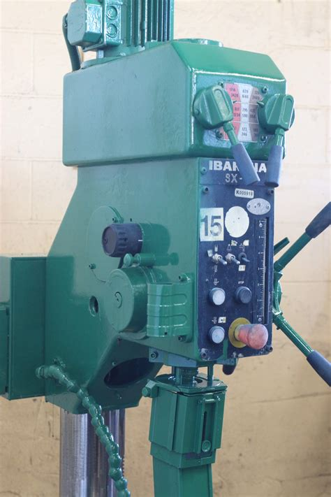 clausing ibarmia geared head drill press stock