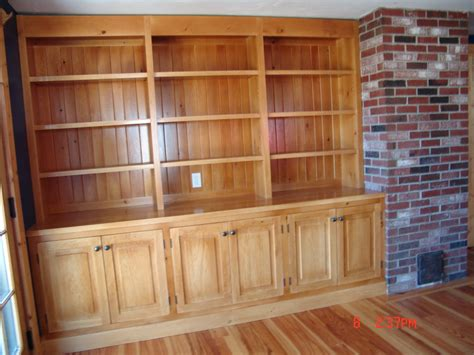 built in bookcase and cabinets by richsoby lumberjocks