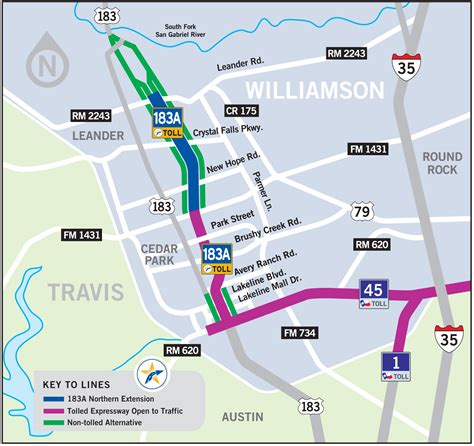 texas toll road map mobility authority completes 140 million innovative finance deal to fund 183a toll road extension