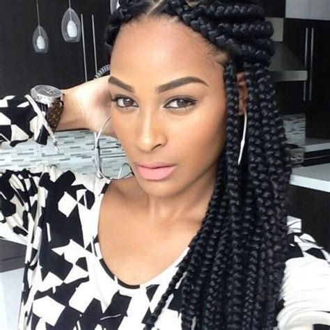 large braided hair styles 75 super hot black braided hairstyles to wear