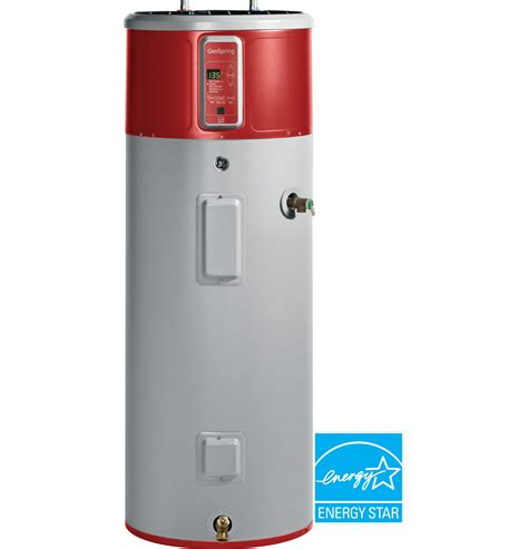 Water Heater Heat geospring hybrid electric water heater geh50deedsr ge