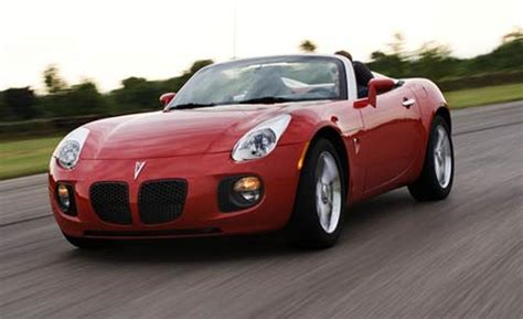 2007 Pontiac Solstice Gxp Review by Car And Driver