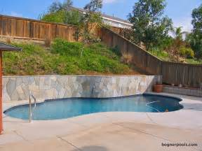 Backyard Pools With Retaining Walls 25 Best Ideas About Pool Retaining Wall On