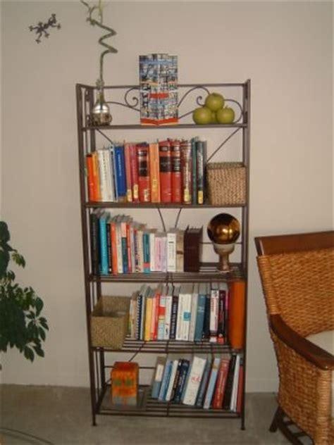 furniture sale pier one metal bookcase