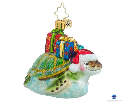 christopher radko under the sea gem christmas ornament