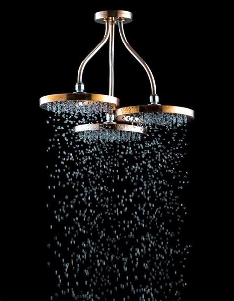 Swarovski crystals adorn modern bathroom taps   Interior