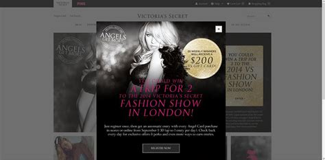 Victorias Secret Sweepstakes - victoria s secret angels get more sweepstakes september is for angels