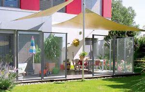 sichtschutz garten verschiebbar windschutz glas garten terrasse ebay