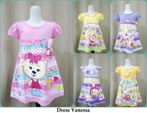 Puasat Grosir Baju Lidia Dress Katun Jepang pusat grosir baju dress anak karakter perempuan termurah 22ribu