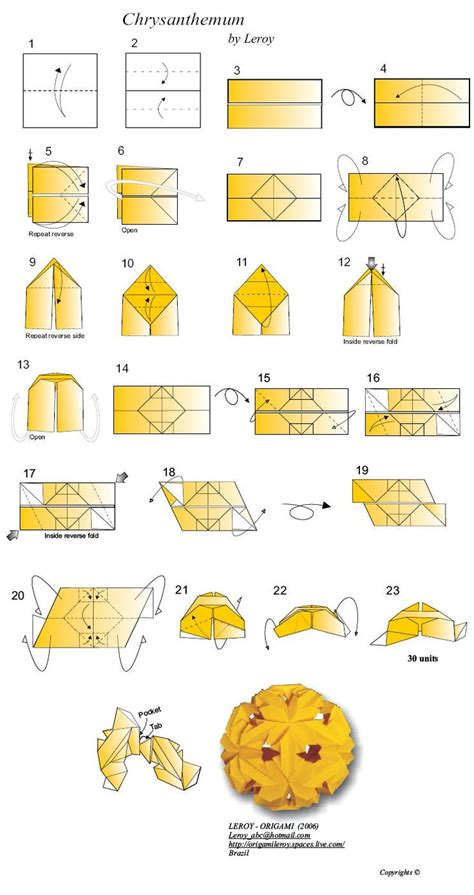 Origami Modular Diagrams - best 25 origami diagrams ideas only on