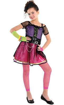 Monstar Popstar Purple 80s costumes 1980s pop rock costumes city