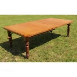 arts crafts oak extending dining table 8ft seats 10