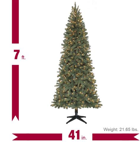 home accents holiday 7 ft benjamin fir quick set