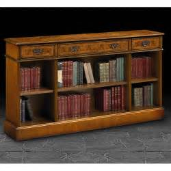low bookshelves iain 3 drawer burr walnut low bookcase at smiths the rink