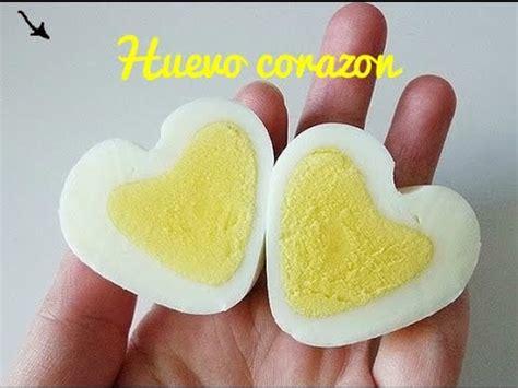 mi cocina facil huevo egg huevo corazon comida saludable