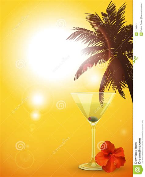 cocktails background summer cocktail background portrait stock vector image