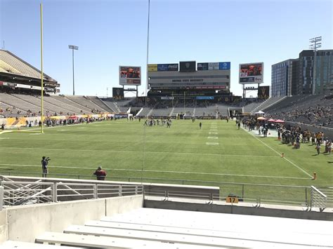section 16 a sun devil stadium section 16 rateyourseats com