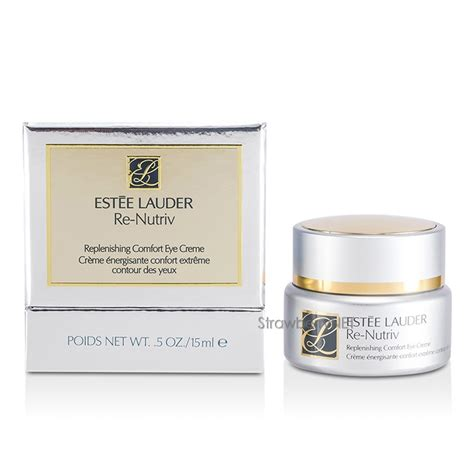 estee lauder re nutriv replenishing comfort creme estee lauder re nutriv replenishing comfort eye cream 15ml