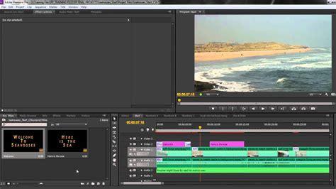 Premiere Pro Cs6 Techniques 36 Titles 4 Exporting Titles Youtube Premiere Pro Templates Cs6