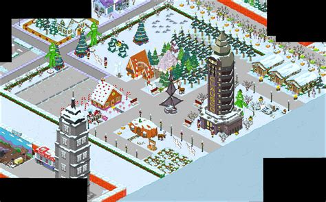 Tapped Out on Christmas: What to Tap Now? Town DesignsThe