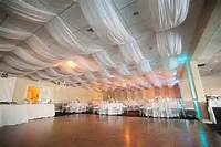 Fabric Draping On Ceilings White Ceiling And