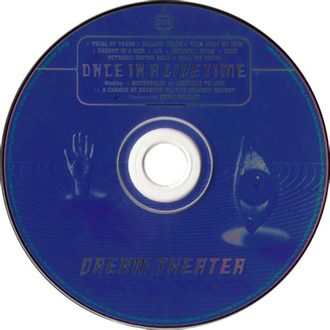 Cd Theater Once car 225 tula cd2 de theater once in a live time portada