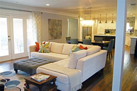 Transitional Living Rooms Houzz. #631 home and garden
