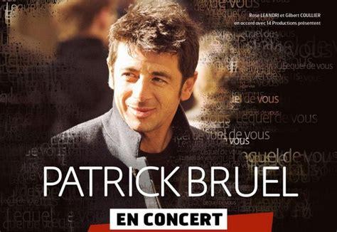 patrick bruel tour dates 2016 2017 concert images